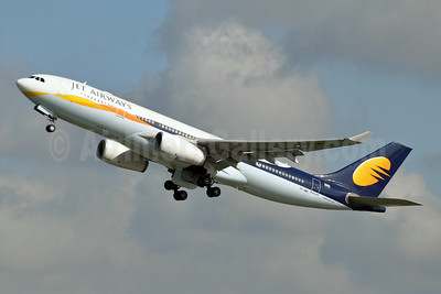 Jet Airways Airbus A330-243 VT-JWD (msn 751) BRU (Karl Cornil). Image: 908331.