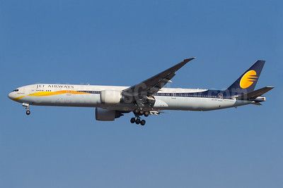 Jet Airways (Etihad Airways) Boeing 777-35R ER A6-JAF (msn 35164) GRU (Rodrigo Cozzato). Image: 934041.