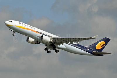 Jet Airways Airbus A330-202 VT-JWL (msn 901) BRU (Karl Cornil). Image: 908329.