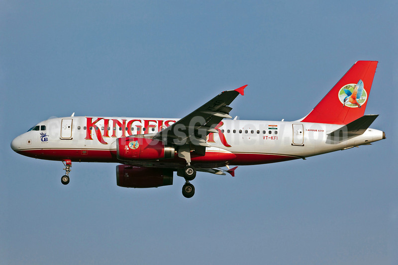 Kingfisher Airlines Airbus A319-131 VT-KFI (msn 2634) BKK (Guillaume Besnard). Image: 905999.