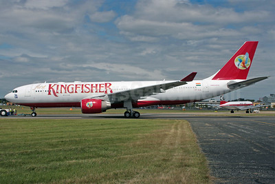 Kingfisher Airlines Airbus A330-223 VT-VJL (msn 891) FAB (Antony J. Best). Image: 902138.