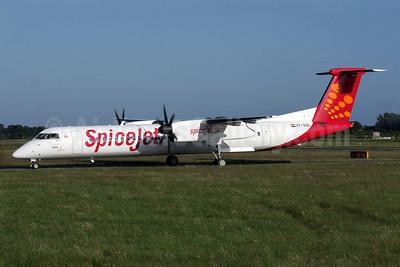 SpiceJet Bombardier DHC-8-402 (Q400) VT-SUL (msn 4400) BOH (Antony J. Best). Image: 908701.