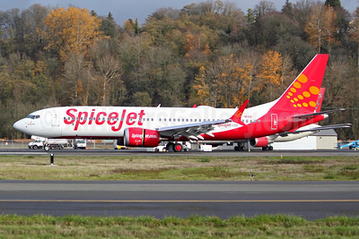 """Jalapeno"", SpiceJet's second MAX 8"