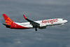 SpiceJet Boeing 737-8GJ WL VT-SGG (msn 36368) PAE (Nick Dean). Image: 905089.