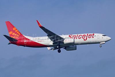 SpiceJet Boeing 737-86N WL VT-SZH (msn 41261) BKK (Michael B. Ing). Image: 921936.