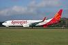 SpiceJet Boeing 737-8GJ WL N119TN (VT-SZC) (msn 39428) QLA (Antony J. Best). Image: 926877.