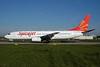 SpiceJet Boeing 737-8K2 PH-HZC (VT-SGJ) (msn 28375) AMS (Ton Jochems). Image: 900426.