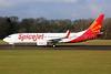 SpiceJet Boeing 737-8GJ WL N119TN (VT-SZC) (msn 39428) QLA (Keith Burton). Image: 934711.