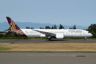 Vistara Boeing 787-9 Dreamliner N1003N (msn 62729) PAE (Nick Dean). Image: 951175.
