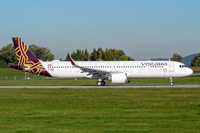Vistara's second Airbus A321neo