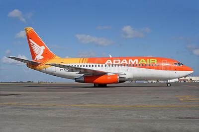 Adam Air Boeing 737-2U4 PK-KKN (msn 22161) DPS (Michael B. Ing). Image: 928320.