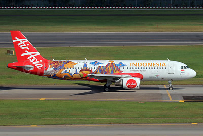 "AirAsia's 2017 special ""Indonesia"" promotional livery"