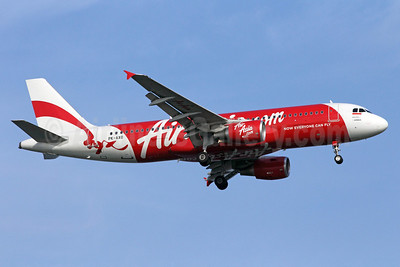 AirAsia (AirAsia.com) (Indonesia AirAsia) Airbus A320-216 PK-AXO (msn 4486) SIN (Michael B. Ing). Image: 907814.