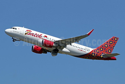 Batik Air-Lion Group Airbus A320-214 WL PK-LAQ (msn 6722) DPS (Pascal Simon). Image: 948460.
