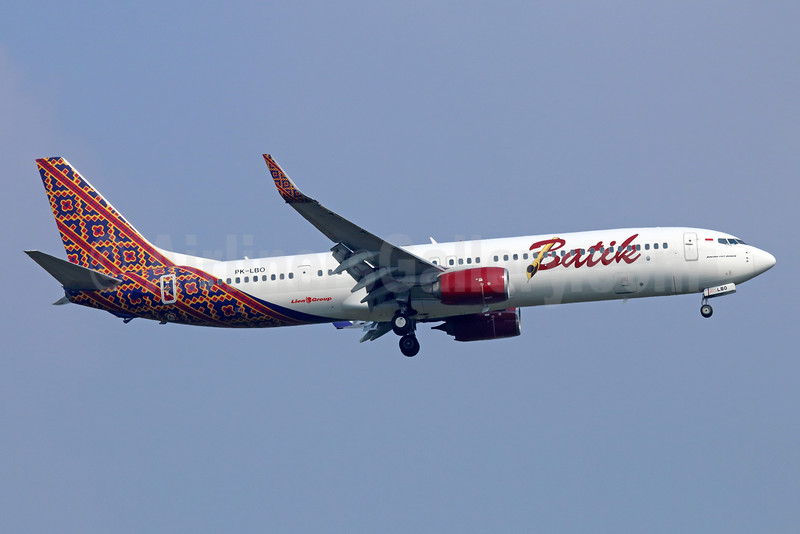 Batik Air-Lion Group Boeing 737-9GP ER WL PK-LBO (msn 38731) CGK (Michael B. Ing). Image: 935276.