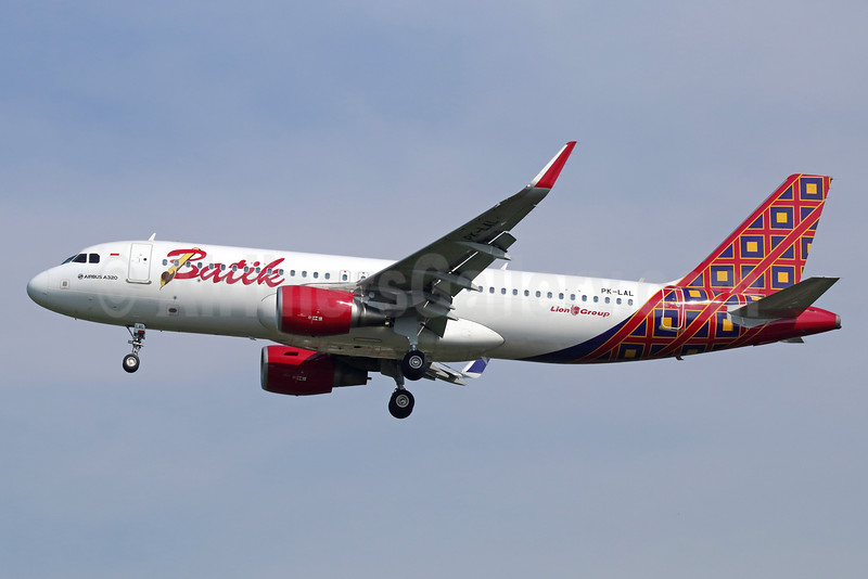 Batik Air-Lion Group Airbus A320-214 WL PK-LAL (msn 6505) CGK (Michael B. Ing). Image: 935279.