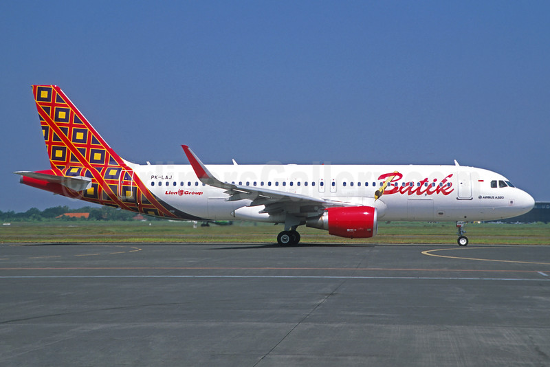 Batik Air-Lion Group Airbus A320-214 WL PK-LAJ (msn 6361) (Jacques Guillem Collection). Image: 933542.