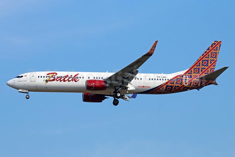 Batik Air-Lion Group Boeing 737-9GP ER WL PK-LBG (msn 38688) CGK (Michael B. Ing). Image: 929058.