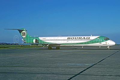 Bouraq Indonesia Airlines McDonnell Douglas DC-9-82 (MD-82) PK-IMC (msn 49113) SUB (Jacques Guillem Collection). Image: 945628.