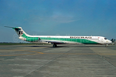 Bouraq Indonesia Airlines McDonnell Douglas DC-9-82 (MD-82) PK-IME (msn 48066) (Christian Volpati). Image: 923453.