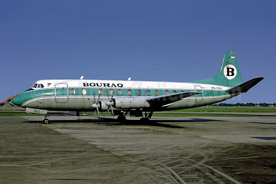 Bouraq Indonesia Airlines Vickers Viscount 843 PK-IVU (msn 456) JKT (Perry Hoppe). Image: 945627.