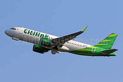 Citilink-Garuda Indonesia Airways Airbus A320-251N WL PK-GTI (msn 8303) DPS (Pascal Simon). Image: 944721.