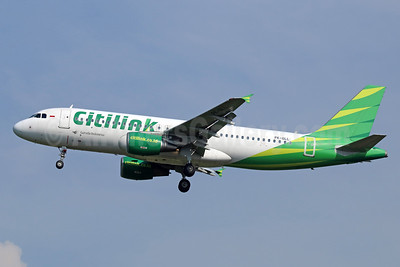 Citilink-Garuda Indonesia Airways Airbus A320-214 PK-GLL (msn 5379) CGK (Michael B. Ing). Image: 934016.