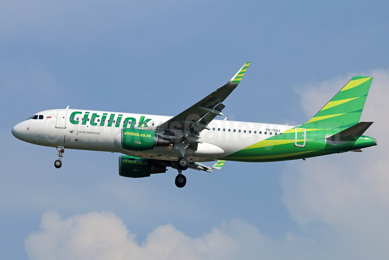 Citilink-Garuda Indonesia Airways Airbus A320-214 WL PK-GQJ (msn 6503) CGK (Michael B. Ing). Image: 934018.