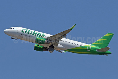 Citilink-Garuda Indonesia Airways Airbus A320-214 WL PK-GQM (msn 6980) DPS (Pascal Simon). Image: 940118.