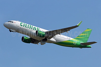 Citilink-Garuda Indonesia Airways Airbus A320-214 WL PK-GQQ (msn 7319) DPS (Pascal Simon). Image: 940119.