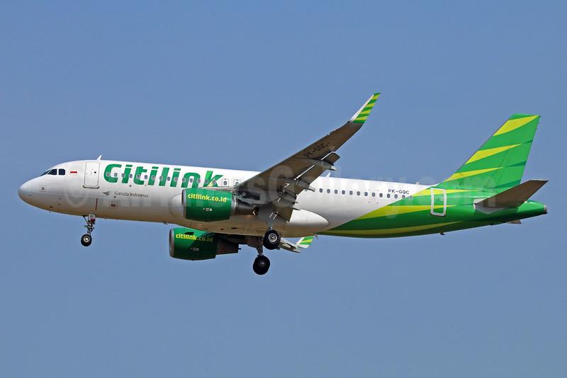 Citilink-Garuda Indonesia Airways Airbus A320-214 WL PK-GQC (msn 6224) CGK (Michael B. Ing). Image: 934017.