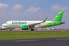Citilink's first A320neo, delivered on February 22, 2017