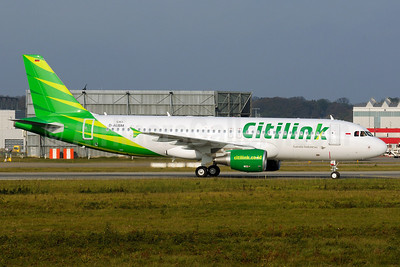 Citilink-Garuda Indonesia Airways Airbus A320-214 D-AUBM (PK-GLK) (msn 5351) XFW (Gerd Beilfuss). Image: 909637.