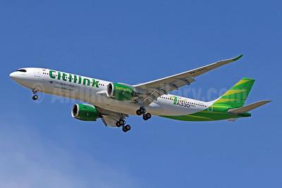 """""""1st A330neo"""" logo"""
