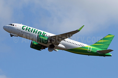 Citilink-Garuda Indonesia Airways Airbus A320-251N WL PK-GTA (msn 7466) DPS (Pascal Simon). Image: 940111.