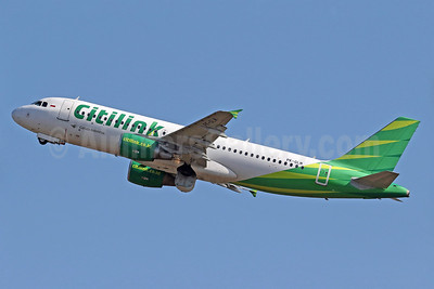 Citilink-Garuda Indonesia Airways Airbus A320-214 PK-GLM (msn 5394) DPS (Pascal Simon). Image: 940114.