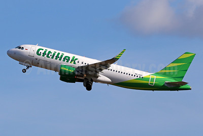Citilink-Garuda Indonesia Airways Airbus A320-214 WL PK-GQS (msn 7450) DPS (Pascal Simon). Image: 942557.
