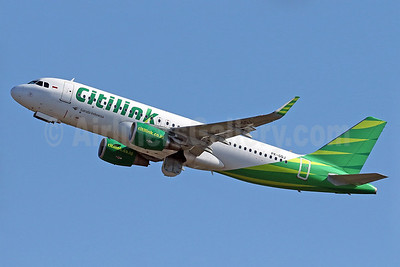 Citilink-Garuda Indonesia Airways Airbus A320-214 WL PK-GQJ (msn 6503) DPS (Pascal Simon). Image: 940117.