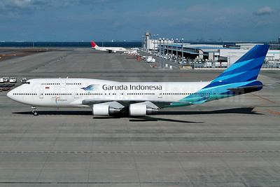 The last Garuda 747 (PK-GSH) to be retired on April 22, 2017