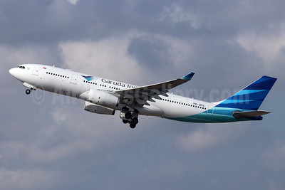 Garuda Indonesia Airways Airbus A330-243 PK-GPO (msn 1288) DPS (Michael B. Ing). Image: 948508.