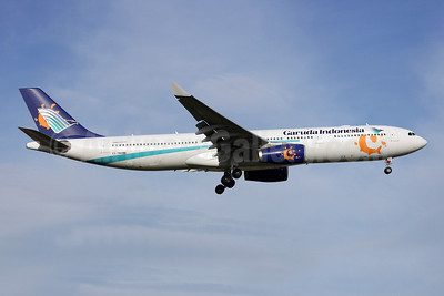 Garuda Indonesia Airways-Orbest Airbus A330-343 CS-TRH (msn 833) (Iberworld Colors) LIS (Pedro Baptista). Image: 909583.