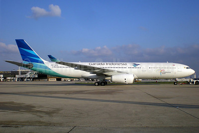 Garuda Indonesia Airways Airbus A330-341 PK-GPE (msn 148) ORY (Pepscl). Image: 905747.