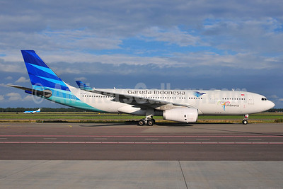 Garuda Indonesia Airways Airbus A330-243 PK-GPI (msn 1052) AMS (Ton Jochems). Image: 905282.