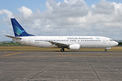 Garuda Indonesia Airways Boeing 737-46Q PK-GZP (msn 28661) DPS (Michael B. Ing). Image: 937078.