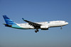 Garuda Indonesia Airways Airbus A330-243 PK-GPJ (msn 988) (Visit Indonesia) AMS (Ariel Shocron). Image: 905075.