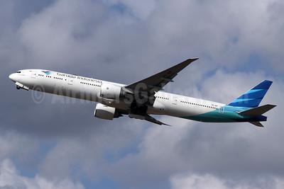 Garuda Indonesia Airways Boeing 777-3U3 ER PK-GIF (msn 29148) DPS (Michael B. Ing). Image: 948197.