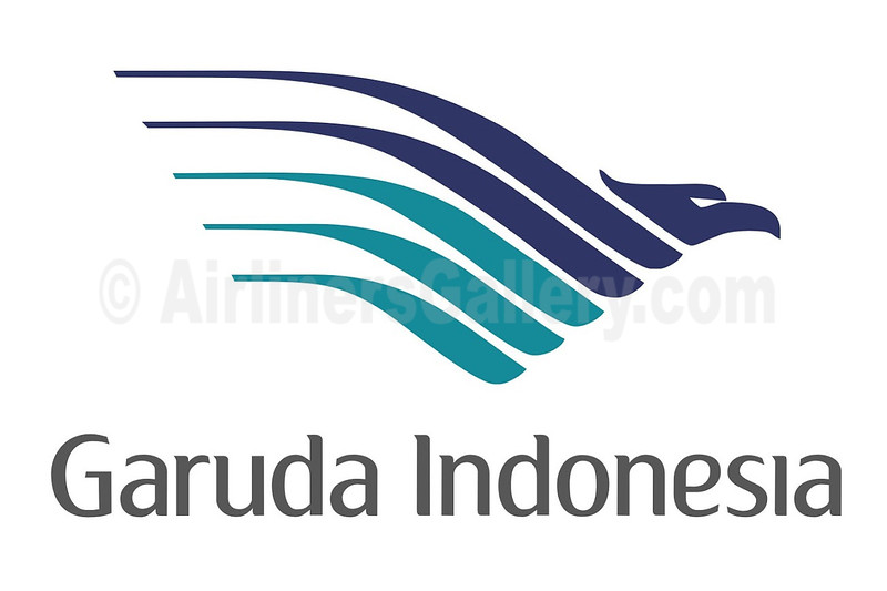1. Garuda Indonesia Airways logo