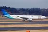 Garuda Indonesia Airways Airbus A330-341 PK-GPD (msn 144) (Liverpool Football Club - You'll Never Walk Alone) NRT (Nik French). Image: 922677.