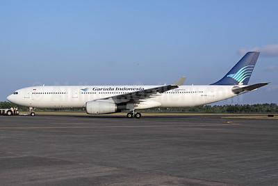 Garuda's first A330-300, delivered December 16, 1996