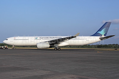 Garuda's first A330-300, delivered December 16, 1996